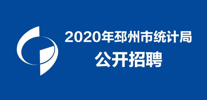 2020年邳州市统计局公开招聘合同制统计